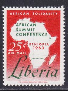 Liberia # C156, African Summit Conference, Mint NH