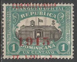 DOMINICAN REPUBLIC 195 VFU E310-1
