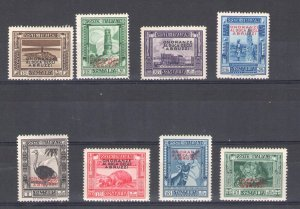 1934 Somalia - Funeral To Duke Of Abruzzi, N° 185/192, 8 Values, New