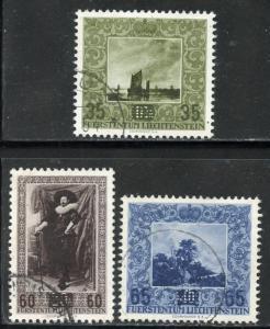 Liechtenstein # 281-3, Used