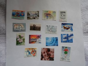 FINLAND STAMPS. MIXED CON. LOT OF 15 STAMPS # 28