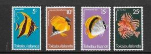 FISH - TOKELAU  #45-8  MNH