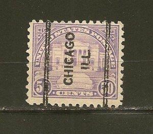 USA 570 Arlington Chicago ILL Precancel Used