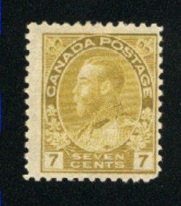 Canada 113   Mint  F 1912   PD