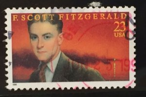 US #3104 Used F/VF - F. Scott Fitzgerald 32c