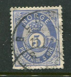 Norway #24a Used