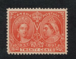 Canada #59 Very Fine+ Never Hinged **With Certificate**