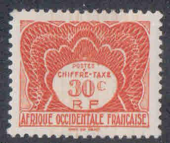 French West Africa # J2 ~ Mint, HMR