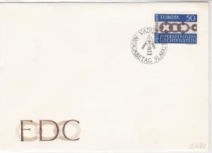 Europa Liechtenstein 1965 Slogan Cancel FDC Stamps Cover ref R18681