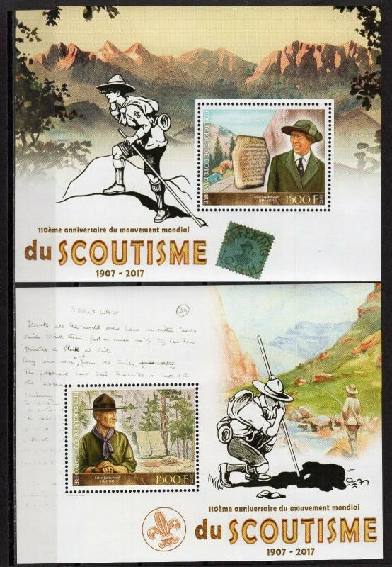 IVORY COAST  2017 110TH ANNIVERSARY SCOUTING   S560