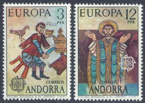 ANDORRA-SPANISH SCOTT 87-88