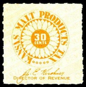 U.S. KANSAS ST. REVS MA9  Mint (ID # 28129)