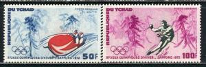 Chad 1972: Sc. # C110-C111; O/Used CTO Cpl. Set