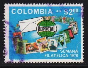 Columbia - #791 Philitelic Week   - Used
