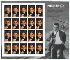 U.S.#3692 CARY GRANT, ACTOR MINT, VF, NH   FULL SHEET @ FACE VALUE!