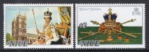 Niue 194-195 MNH VF