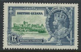 British Guiana SG 303 Mint Hinged  (Sc# 225 see details)  Silver Jubilee 1935