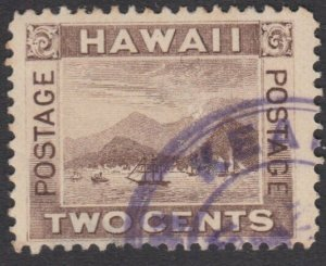 HAWAII 2c with part strike KEAMEA cds in violet............................27769