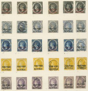 St. Lucia Scott AR1-AR28 Gibbons F1-F28 Mint Set of Stamps