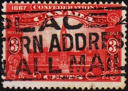 Canada. 1927 3c S.G.268 Fine Used