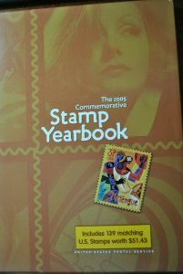 USPS 2005 stamp yearbook no stamps