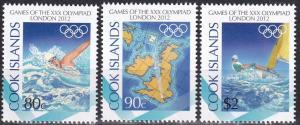 Cook Islands #1413-5  MNH CV $6.00  (A19603)