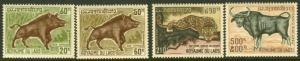 Laos 203-4, C70-1 MNH Animals