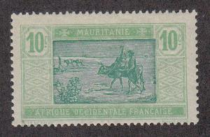 Mauritania Crossing Desert (22)(Scott # 24) MH