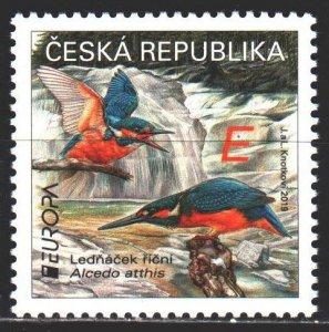Czech Republic. 2019. 1024. Birds, Europe sept. MNH.