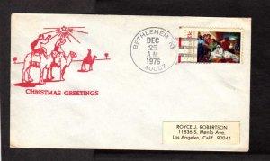 KY Christmas Greetings Shepherds Star Bethlehem Kentucky Dec. 25 1976 Cover