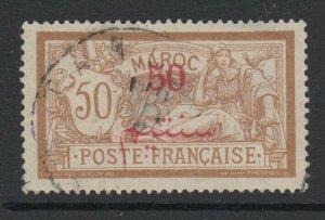 French Morocco, Scott 36 (Yvert 35), used