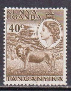 Kenya,Uganda,Tanz.  #109  MNH  (1958)  c.v. $1.50