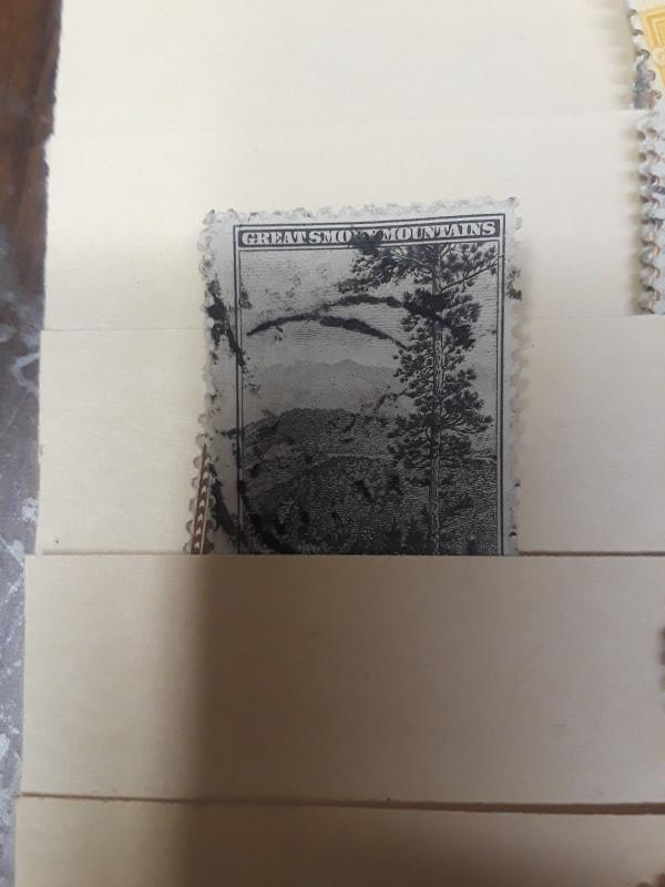 1934 Parks Perforated Set Used