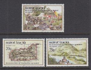 St Lucia 1014-1016 MNH VF