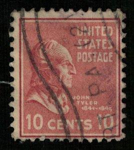USA, John Taylor, 10 cents (2936-Т)