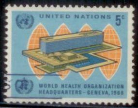 United Nations New York 1966 SC# 156 Used TS1