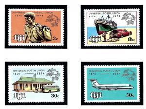 Fiji 347-50 MNH 1974 UPU Centenary