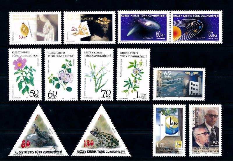 [51530] Turkish Cyprus 2009 Complete Year Set  MNH