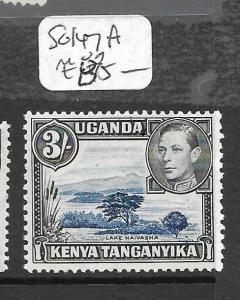 KENYA AND  UGANDA  (P0609B) KGVI 3/-  SG 147 MOG