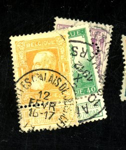 BELGIUM #90-1 98 USED F-VF Cat $45