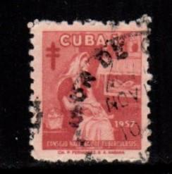 Cuba - #RA35 Mother & Child - Used