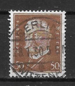 Germany 381 50pf Presidents single Used (z3)
