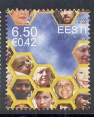 Estonia Sc 544 2006 Europa stamp NH