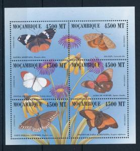 [31928] Mozambique 2000 Butterflies Schmetterlingen Papillons  MNH Sheet