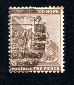 Cape of Good Hope Scott 45, F, Used, CV $3.50 ..... 1190044