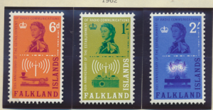 Falkland Islands Stamps Scott #143 To 145, Mint Never Hinged - Free U.S. Ship...