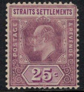 Straits Settlements #118*  CV $22.50  (rounded corner)