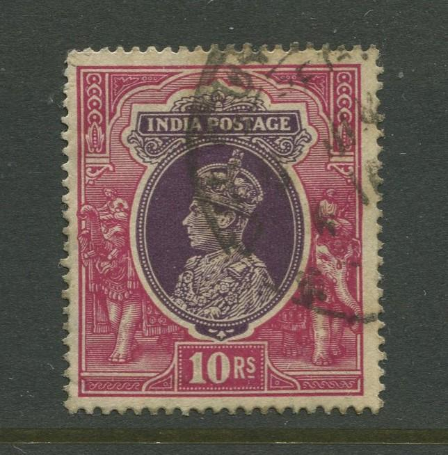 STAMP STATION PERTH India #165 KGVI Definitive FU CV$1.00.