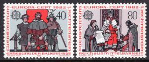 Liechtenstein 733-734 Europa MNH VF
