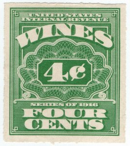 (I.B) US Revenue : Wines Duty 4c